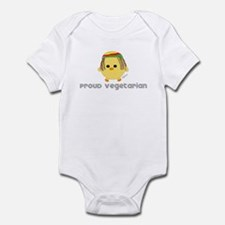 Proud Rasta Vegetarian Infant Bodysuit