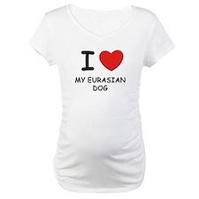 I love MY EURASIAN DOG Shirt