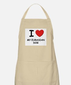 I love MY EURASIAN DOG BBQ Apron