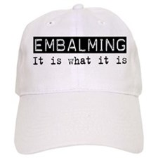 Embalming Is Baseball Cap