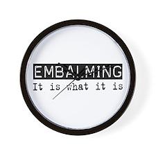 Embalming Is Wall Clock