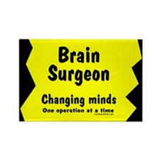 Brain Surgeon Rectangle Magnet
