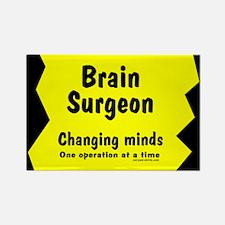 Brain Surgeon Rectangle Magnet