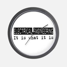 Electrical Engineering Is Wall Clock