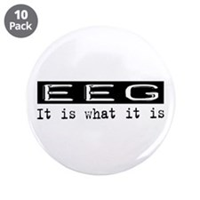 "EEG Is 3.5"" Button (10 pack)"