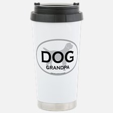 DOG GRANDPA Stainless Steel Travel Mug