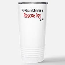 Rescue Grandchild Stainless Steel Travel Mug