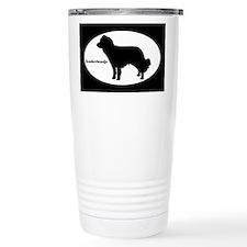 Kooikerhondje Silhouette Travel Mug