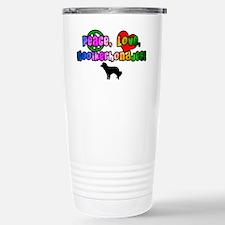 Hippie Kooikerhondje Travel Mug