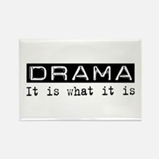 Drama Is Rectangle Magnet