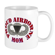 Proud Airborne Mom Small Mug