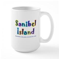 Sanibel Type - Large Mug