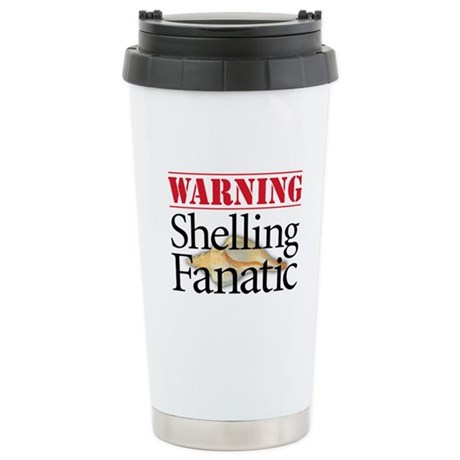 Shelling Fanatic - Stainless Steel Travel Mug