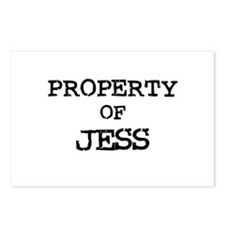 Property of Jess Postcards (Package of 8)