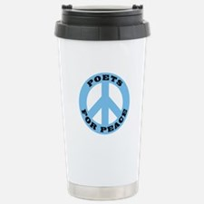 Poets For Peace Travel Mug
