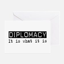 Diplomacy Is Greeting Card