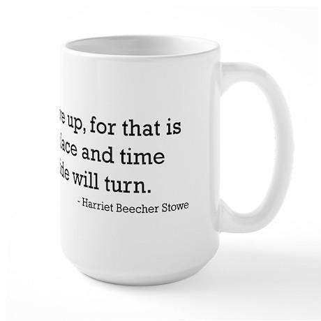 Harriet Beecher Stowe Large Mug