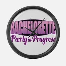 Bachelorette Party Large Wall Clock