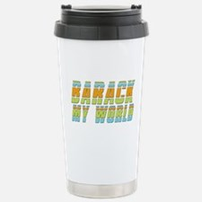 Barack My World Stainless Steel Travel Mug