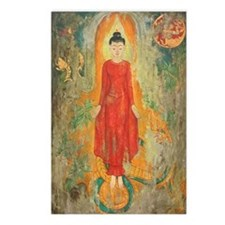 buddha + world postcards (Package of 8)
