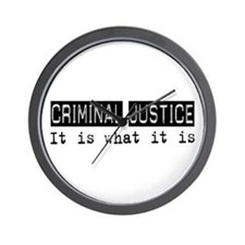 Criminal Justice Is Wall Clock