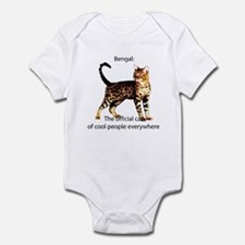 Cool people love bengals Infant Creeper