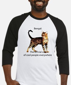 Cool people love bengals Baseball Jersey