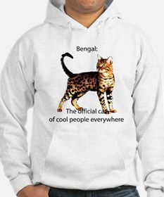 Cool people love bengals Hoodie