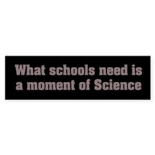 Moment of Science Bumper Bumper Sticker