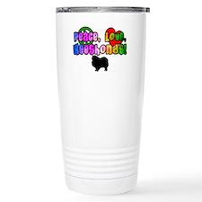 Hippie Keeshond Travel Mug