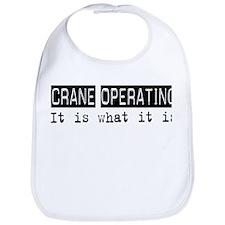 Crane Operating Is Bib