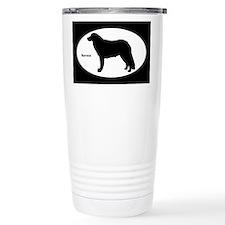 Kuvasz Silhouette Travel Mug