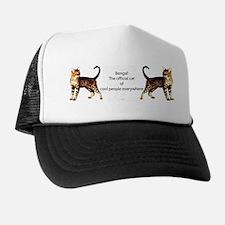 Cool people love bengals Trucker Hat