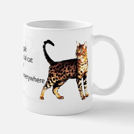 Cool people love bengals Mug