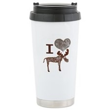 I heart Moose Travel Mug