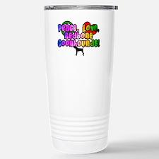 Hippie Redbone Coonhound Travel Mug