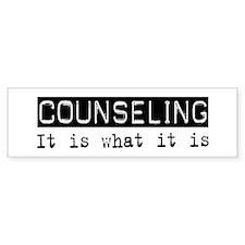 Counseling Is Bumper Bumper Sticker