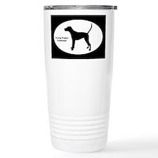TW Coonhound Silhouette Travel Mug
