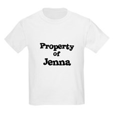 Property of Jenna Kids T-Shirt