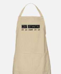 Cost Estimating Is BBQ Apron