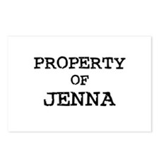 Property of Jenna Postcards (Package of 8)