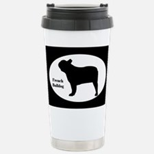 French Bulldog Silhouette Travel Mug