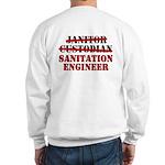 Dad's Sanitation Engineer Sweatshirt