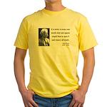 Mark Twain 41 Yellow T-Shirt