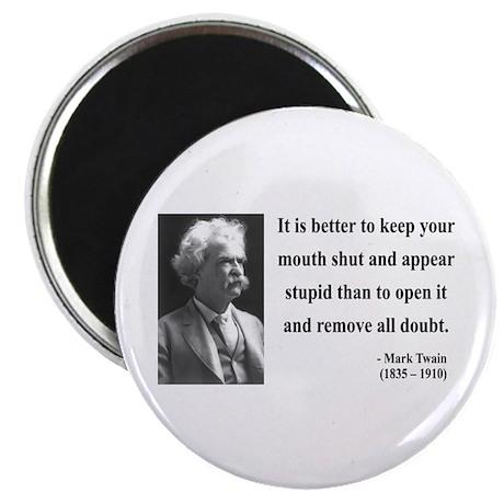 "Mark Twain 41 2.25"" Magnet (100 pack)"