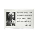Mark Twain 41 Rectangle Magnet (100 pack)