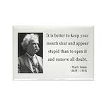 Mark Twain 41 Rectangle Magnet (10 pack)