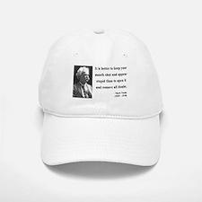 Mark Twain 41 Baseball Baseball Cap