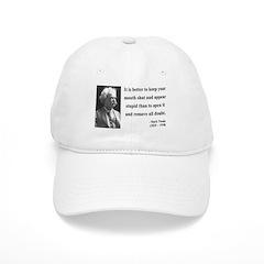 Mark Twain 41 Baseball Cap