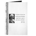 Mark Twain 41 Journal